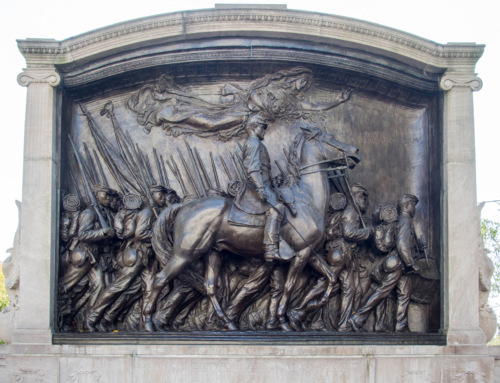 Shaw 54th Regiment Memorial defaced during protests