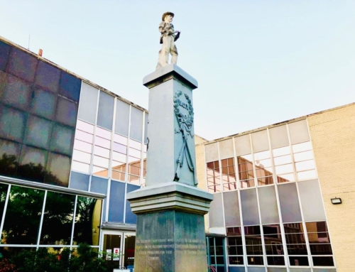 Confederate monument to remain in place at courthouse