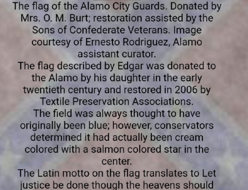 Texas Division Website Adds Alamo City Guards Flag