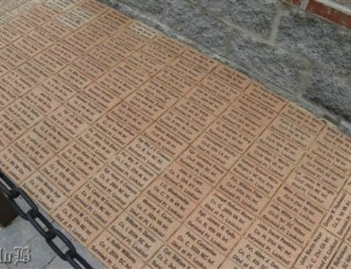 Georgetown no longer allowing memorial bricks, after several honoring Confederate soldiers